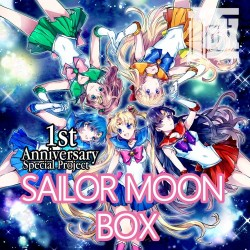 1st Anniversary KIWAMI BOX  SAILOR MOON